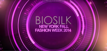 BIOSILK - NEW YORK - FASHION WEEK - TOAMNA 2014 - CAROLINA HERRERA